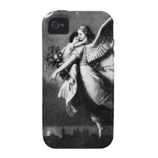 Guardian Angel At Night iPhone 4 Case