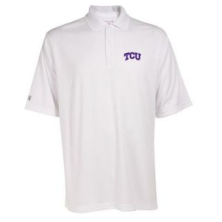 TCU Horned Frogs Exceed Desert Dry Xtra Lite Polo   Men