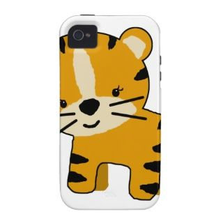 Tiger iPhone Cases, Cartoon Tiger iPhone 5, 4 & 3 Case/Cover Designs