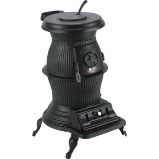 Vogelzang 200,000 BTU Cast Iron Pot Belly Stove, Model# PB65XL  Wood