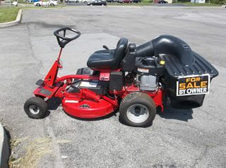 snapper riding lawn mower manual