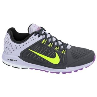 Nike Zoom Elite + 6   Womens   Running   Shoes   Anthracite/Volt/Pure