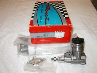 Rossi 45 Fise Model Airplane Engine with Muffler