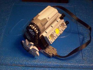 Lego Technic Power Function V6 Engine Motor Kit Gear