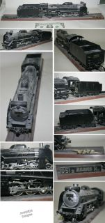 D51 Steam Locomotive Old Model Train Plastic 1 50 JNR