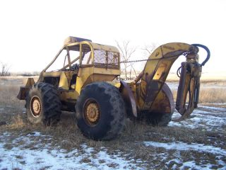 Clark 667 Grapple Log Skidder Needs Engine 453T