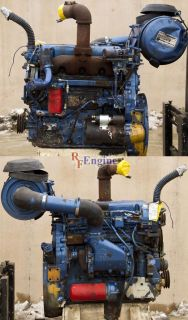 Engine Good Running Detroit Diesel 4 53 Nat s N 4D 116089 Cntrl