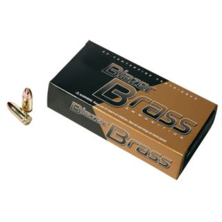 Blazer Model 5201 Brass Ammunition 9mm Luger Caliber