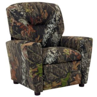 Kids Chair, Mossy Oak Recliner by Kidz World customer