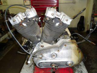1984 XLH 1000 Harley Davidson Sportster Engine Motor Trans