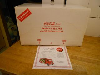 Diecast 1 24 1938 GMC Cab Over Engine Delivery Truck Coca Cola