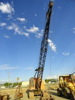Northwest 3 4 Yard Dragline Crane Cat D320 Engine 50 Boom
