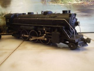 Pre War Lionel 224 Lionel Lines 2 6 2 Steam Engine and Tender
