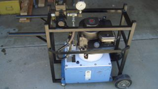 OTC 10 000 PSI Hydraulic Pump Gas Engine Driven