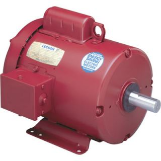 Leeson Farm Duty Electric Motor 1 5 HP 1725 RPM 110089