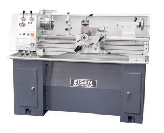 EISEN 1236GH Bench Lathe with Stand, Made in Taiwan, Single Phase 220V