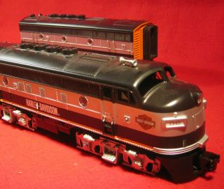 RailKing O Scale HARLEY DAVIDSON F3A Diesel Engine F3B Unit Trains EXC