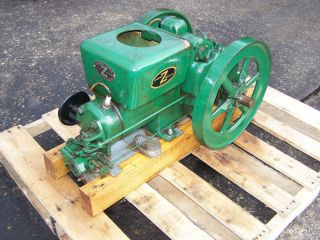Fairbanks Morse Z Hit MIss Gas Engine Steam Tractor Magneto Oiler NICE