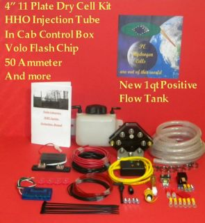 Worlds Best HHO 4 11 Plate (100psi tested) Dry Cell Generator system