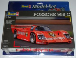 Revell Model Kit   Porsche 956 C Racing Car 67253 inc Paint&Glue FAST