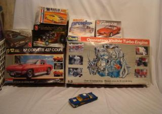 Revell Operating 2 3 Ford Visible Turbo Engine Model from 1985 Mustang