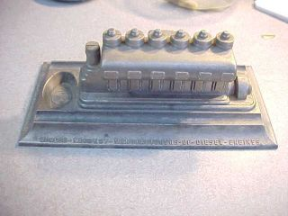 Fairbanks Morse Diesel Marine Engine Model Scale 3 8 1