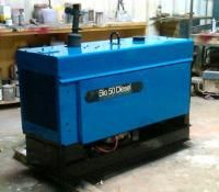Miller Big 50 Diesel Welder Skid Mounted