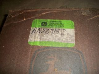 John Deere Hydraulic Pump for 6500 6600 6700 Sprayers AN203152