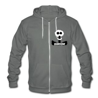 Baboom mushroom cloud   the consequences of nuclear policy Zip Hoodies