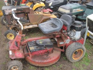 Snapper Lawn Tractor Rider Riding Mower Briggs Engine