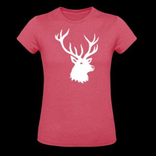 stag night bachelor deer moose elk antler antlers Womens Fitted