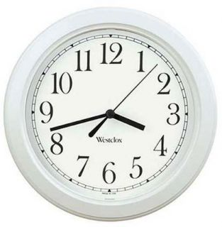 Ingraham Clocks 46 994 8 1/2 Westclox Simplicity Quartz Wall Clock