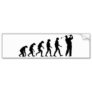 Evolution des Golfs Autosticker